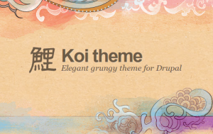 koi free drupal theme for 7.x