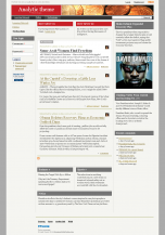 analytic drupal theme for 7.x