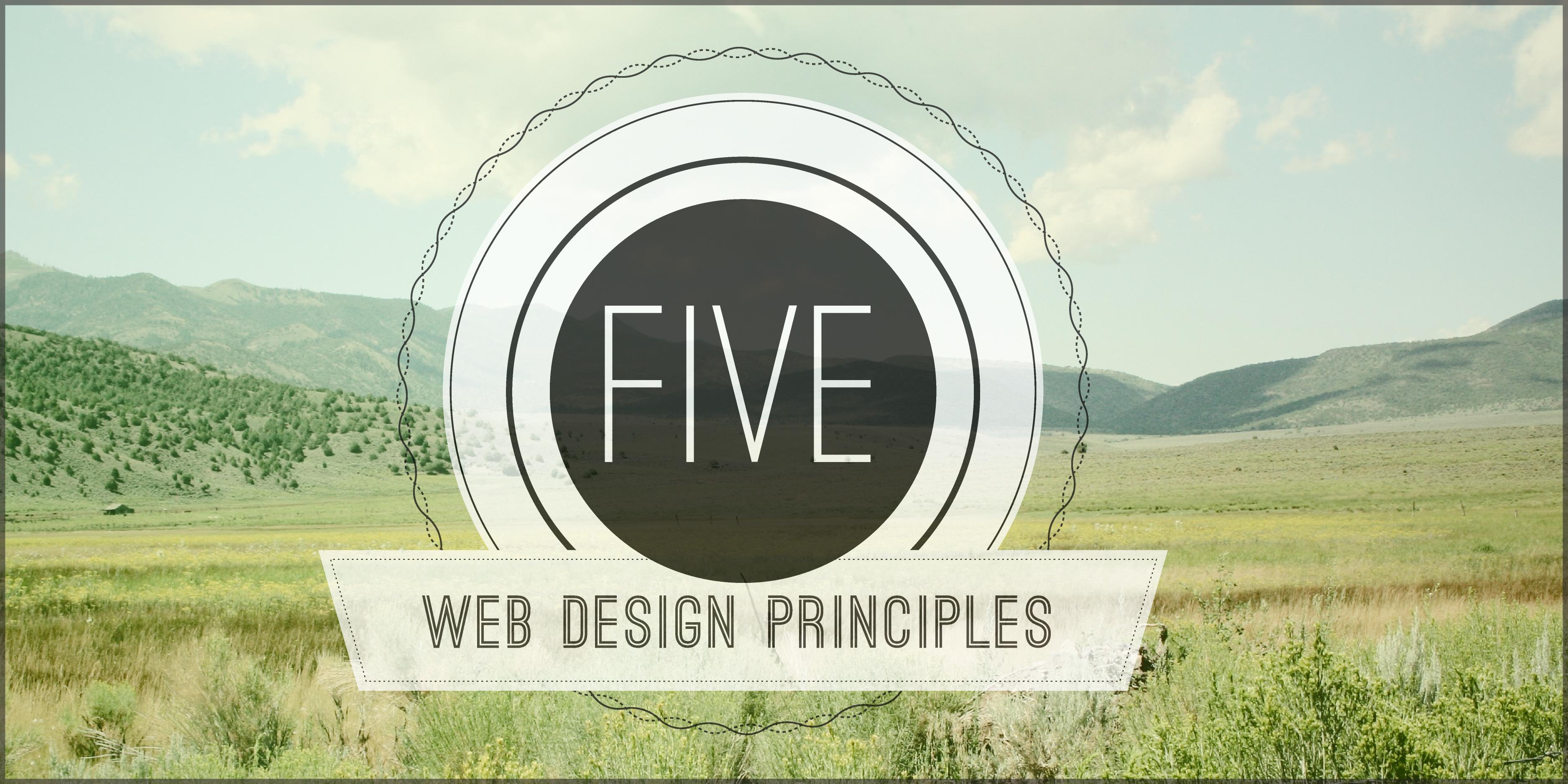Five Principles of Visual Web Design | LevelTen Dallas, TX