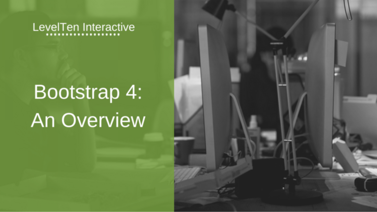 bootstrap 4 overview