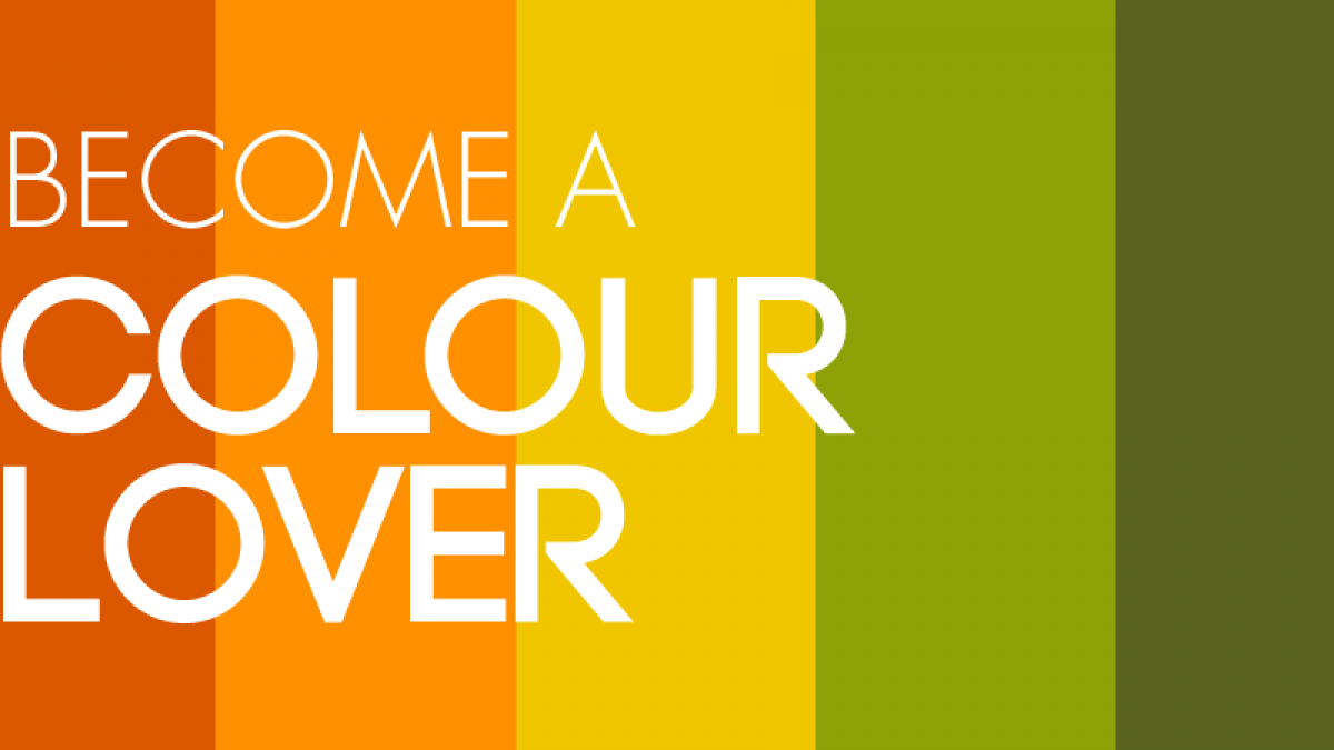 become a colour lover