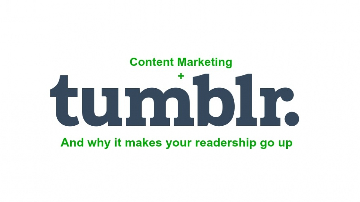 tumblr and content marketing