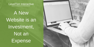 A New Website is an Investment, Not an Expense