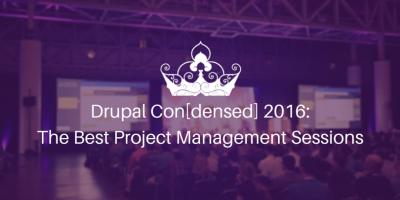 drupalcon project managment