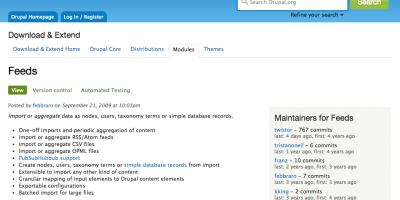 How to set up Drupal Feeds to Import RSS