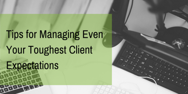 managing clients