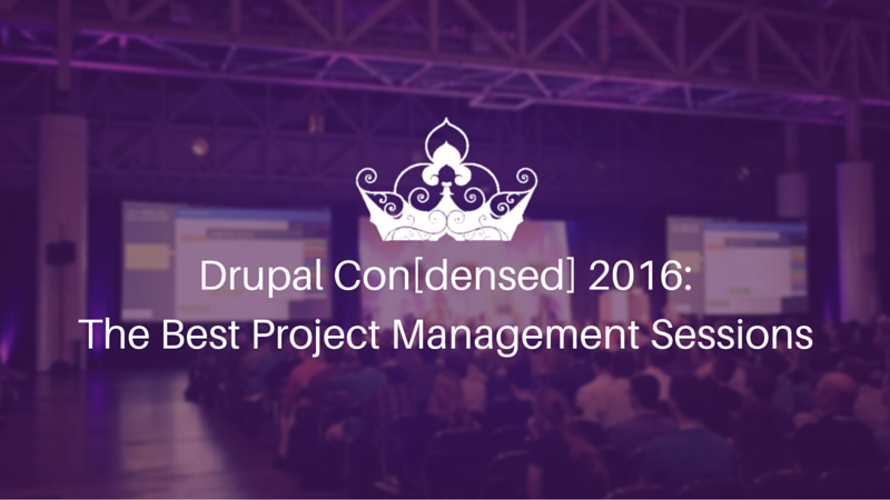 drupalcon project managment