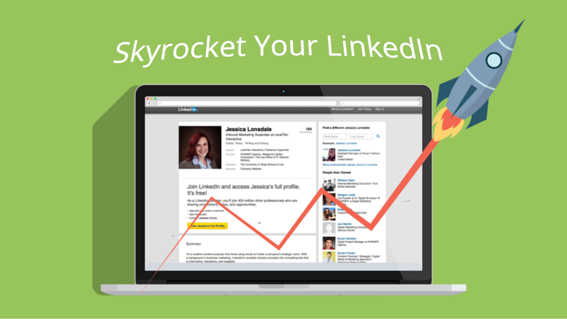 skyrocket your linkedin views