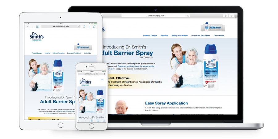Dr Smith's Adult Barrier Spray - Resposive Mobile Design