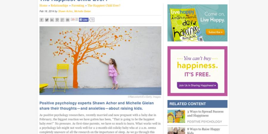 LiveHappy Article