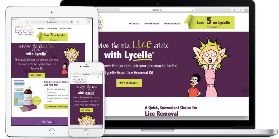 Lycelle Mobile Responsive Design