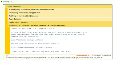 dpm email message via maillog