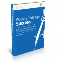 Website Redesign Success ebook