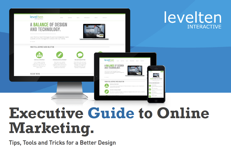 how to create ebook template content marketing | levelten dallas, tx, Modern powerpoint