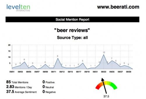 social insights analytics report