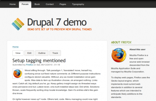 corolla free drupal theme for 7.x