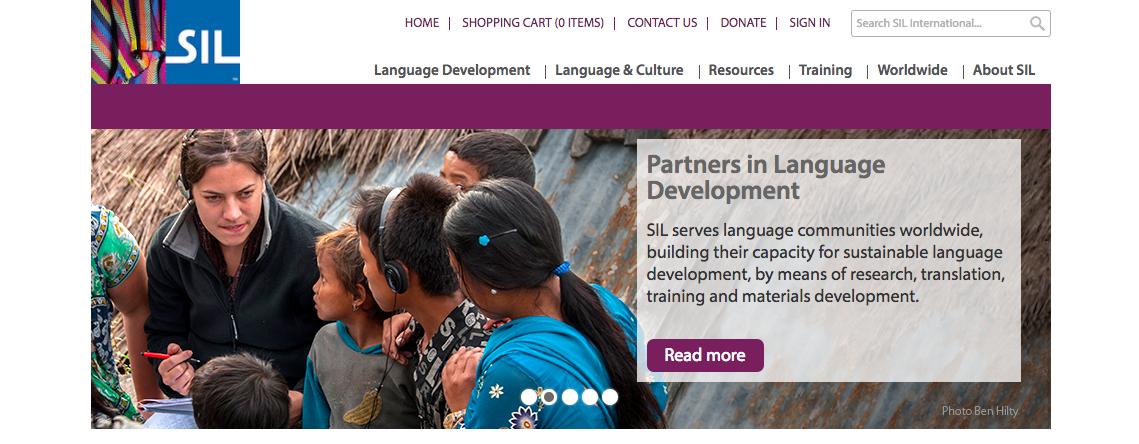 SIL International Homepage
