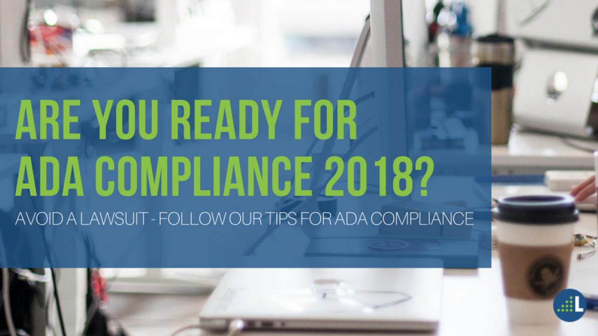 ADA Compliance 2018
