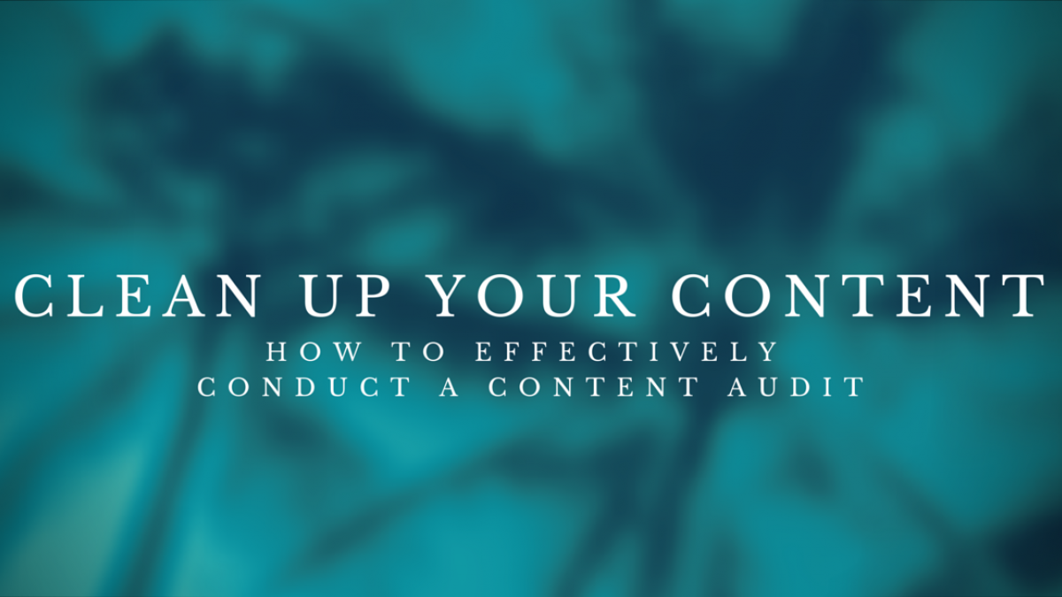 clean up your content