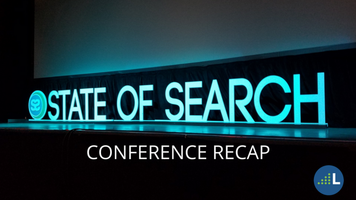 state of search conference recap
