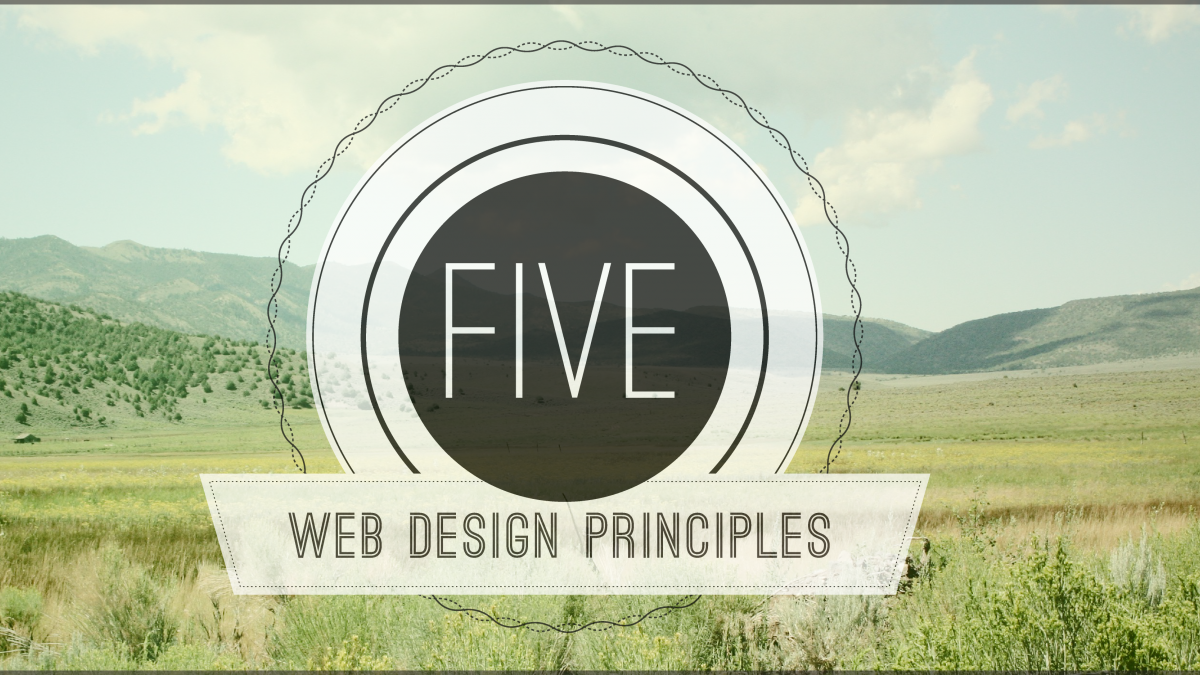 Five Web Design Principles