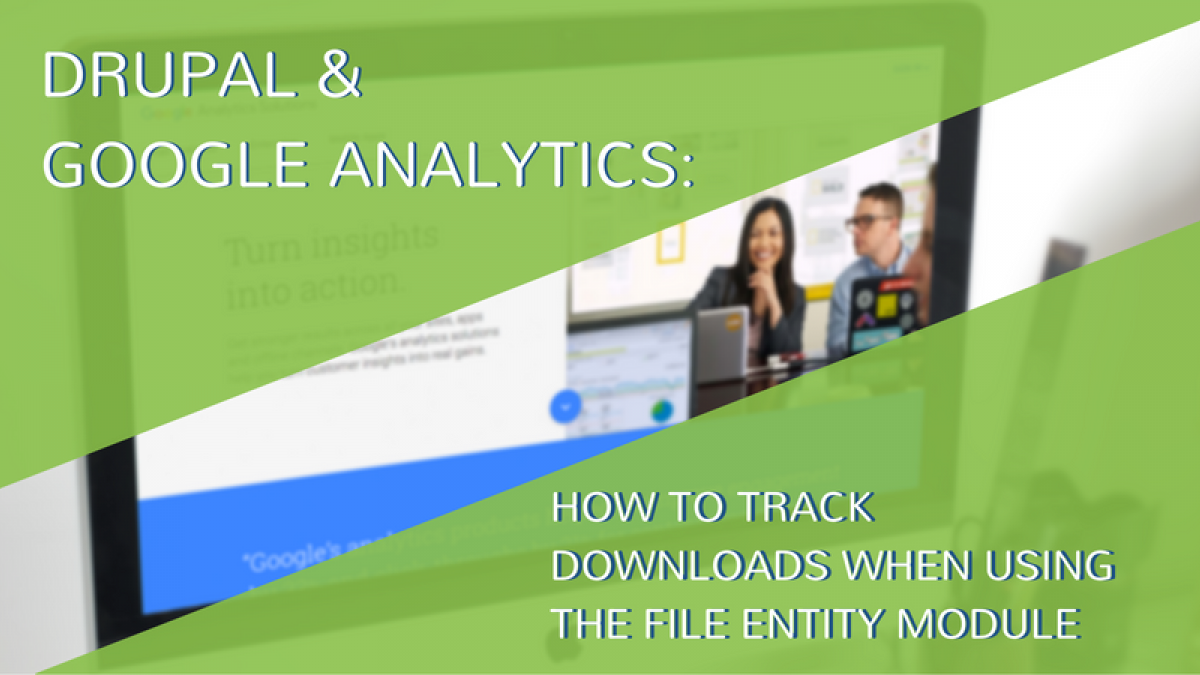 track downloads google analytics and drupal