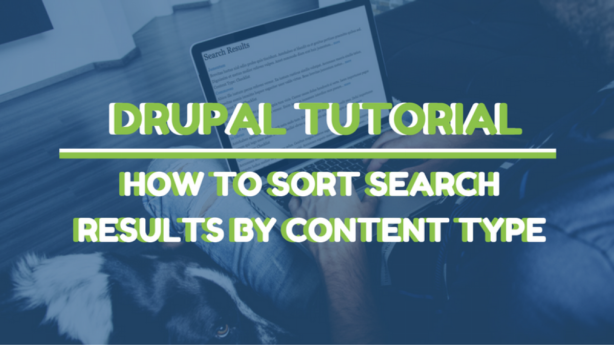 drupal tutorial search results