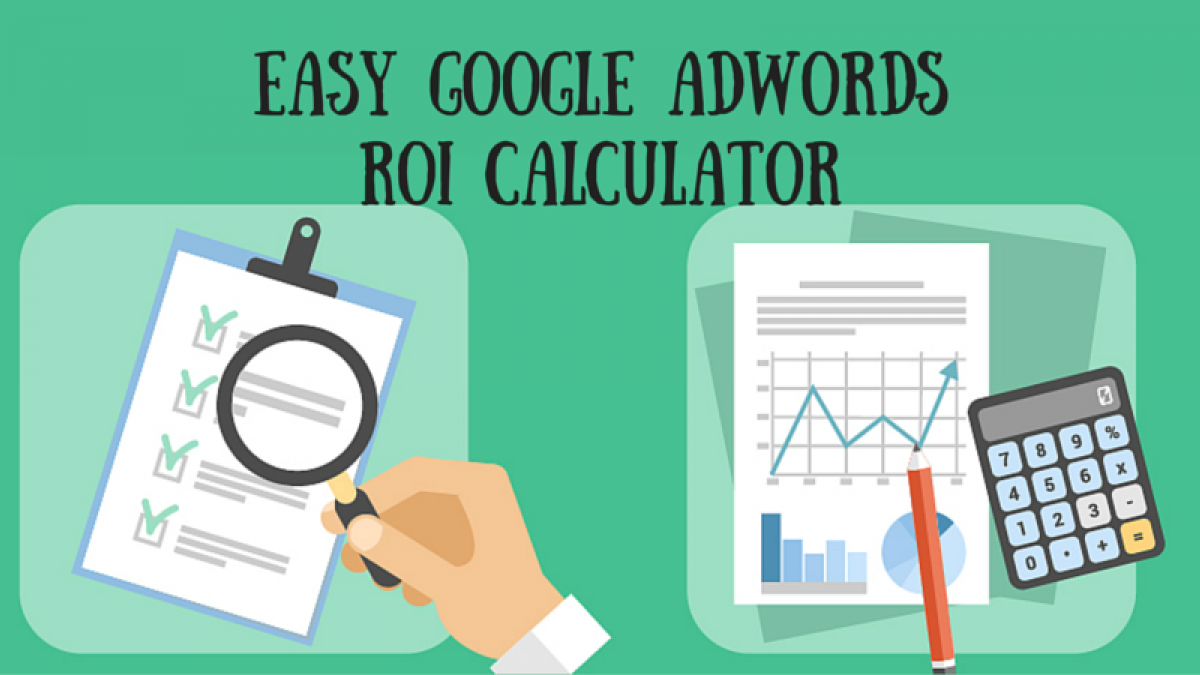 easy google adwords roi calculator