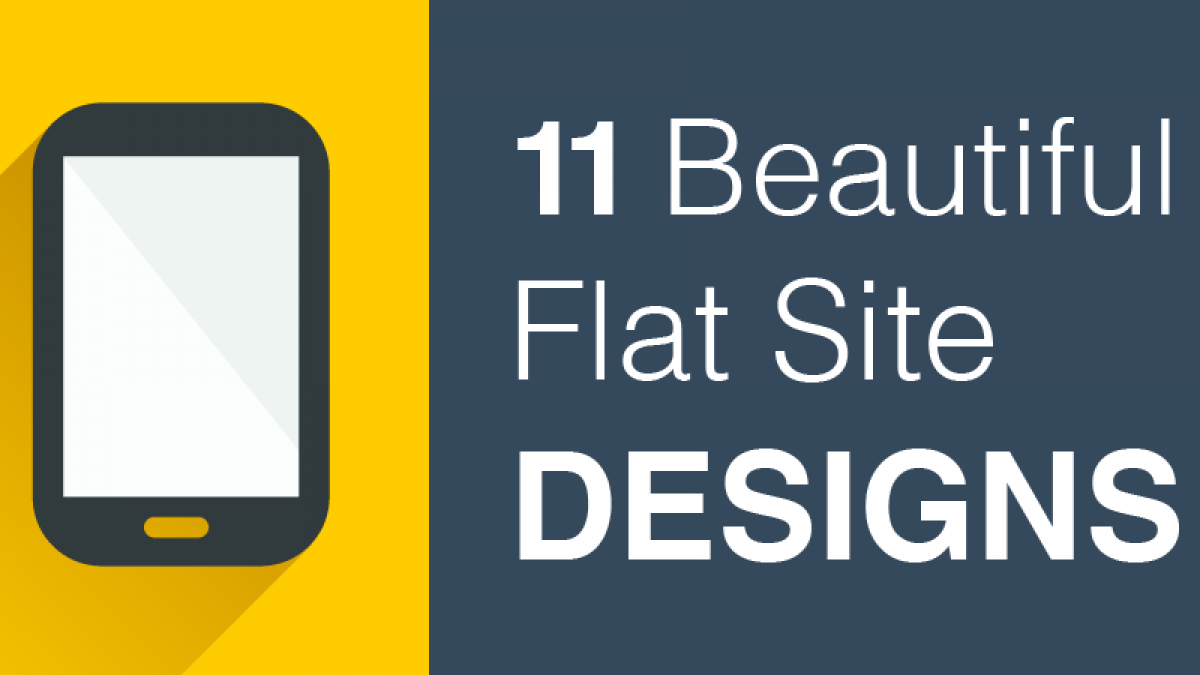 11 Beautiful Flat Site Designs
