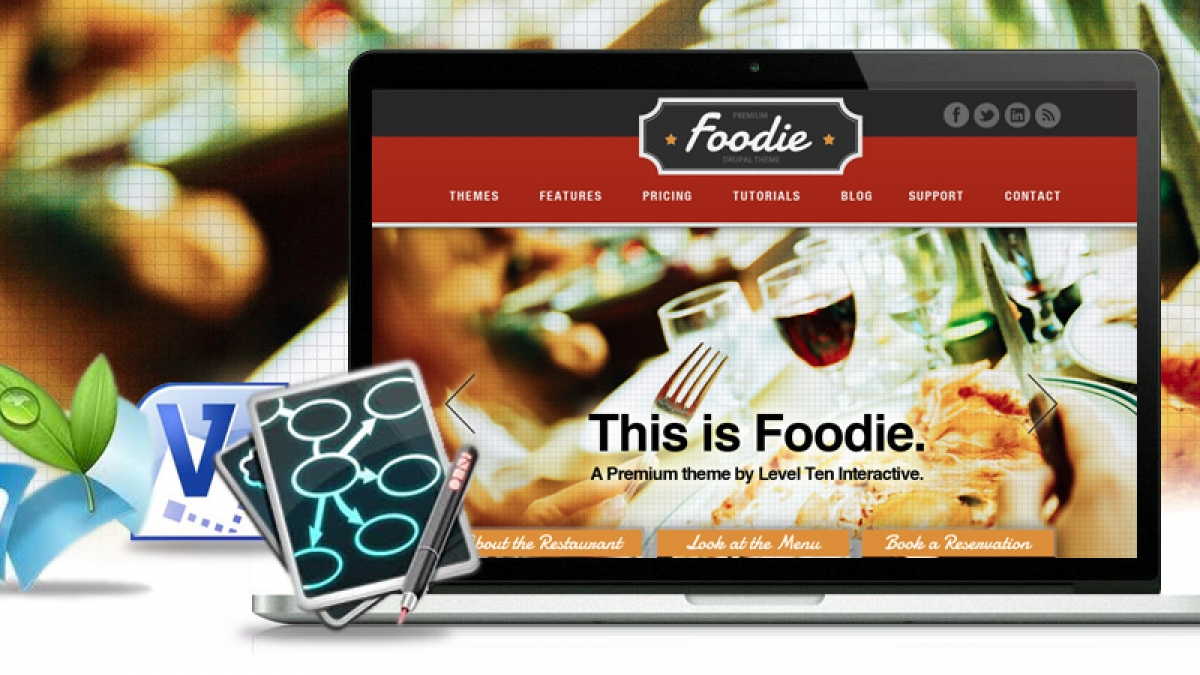 foodie blog banner
