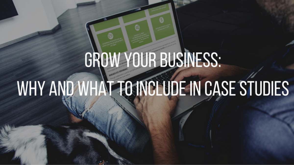 grow your business  why and what to include in case studies