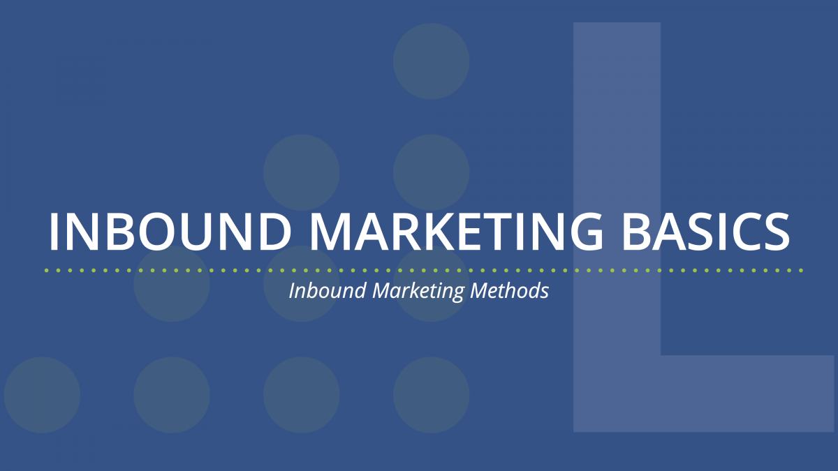 inbound marketing basics
