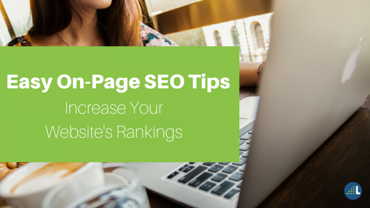increase website ranks with on site optimization