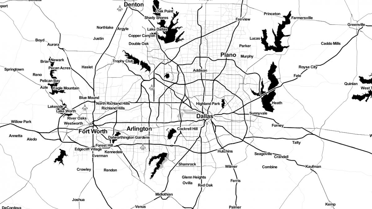 Made-to-Order Maps with Leaflet API | LevelTen Dallas, TX
