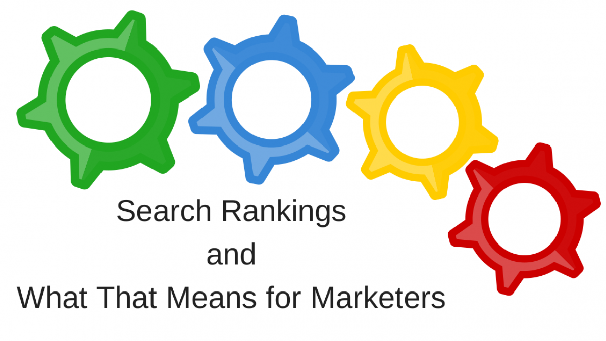 search rankings for marketers