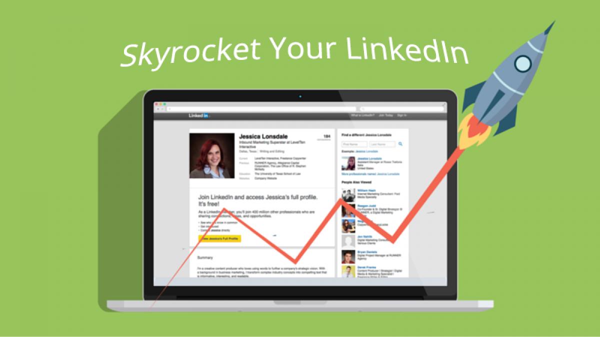 skyrocket your linkedin views