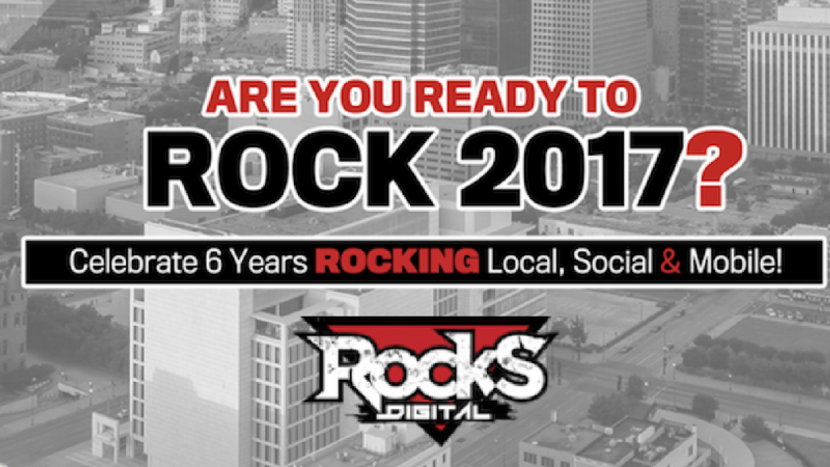 6th Annual Rocks Digital Marketing Conference – June 29 and June 30, 2017!