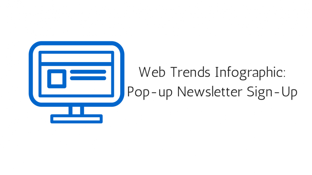 web trends infographic newsletter