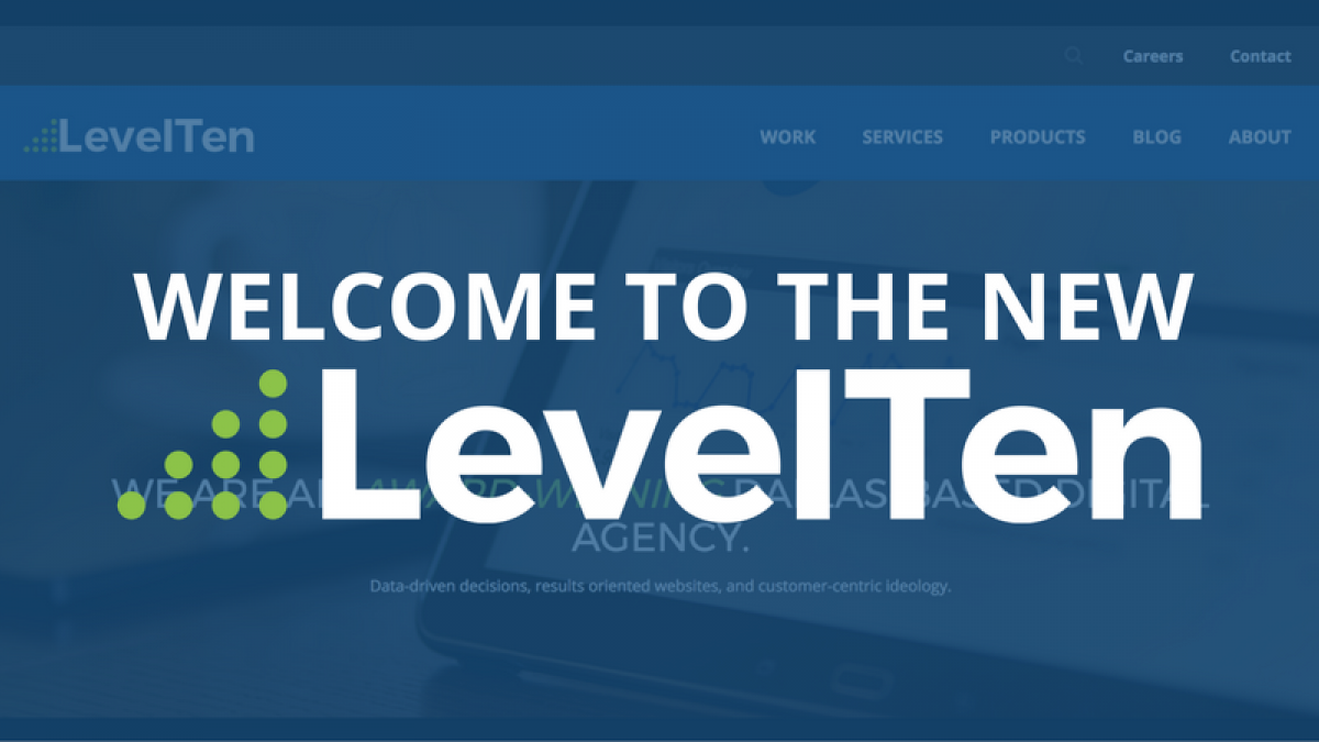 new levelten website