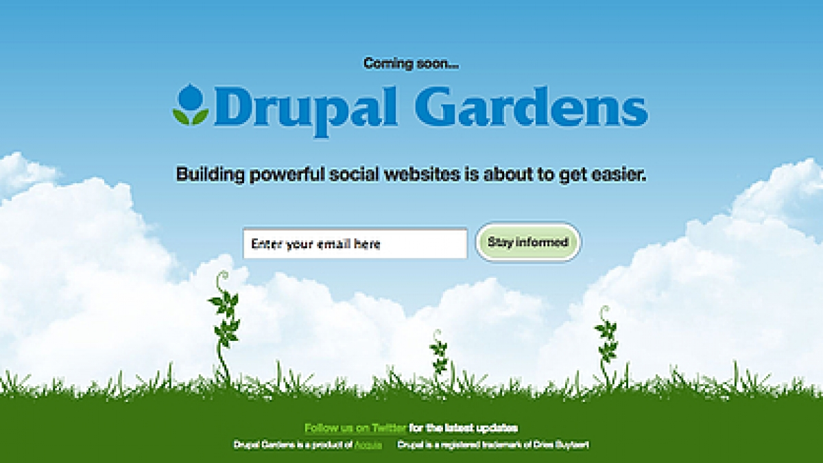 LevelTen Interactive Drupal Gardens Will Make Easier To Use