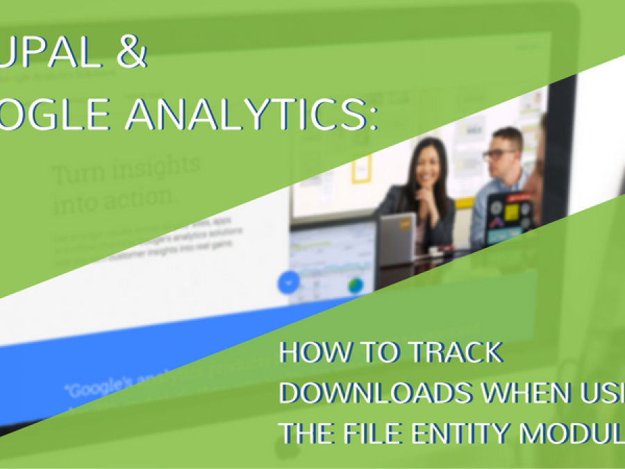 Drupal and Google Analytics - How to Track Downloads when using the