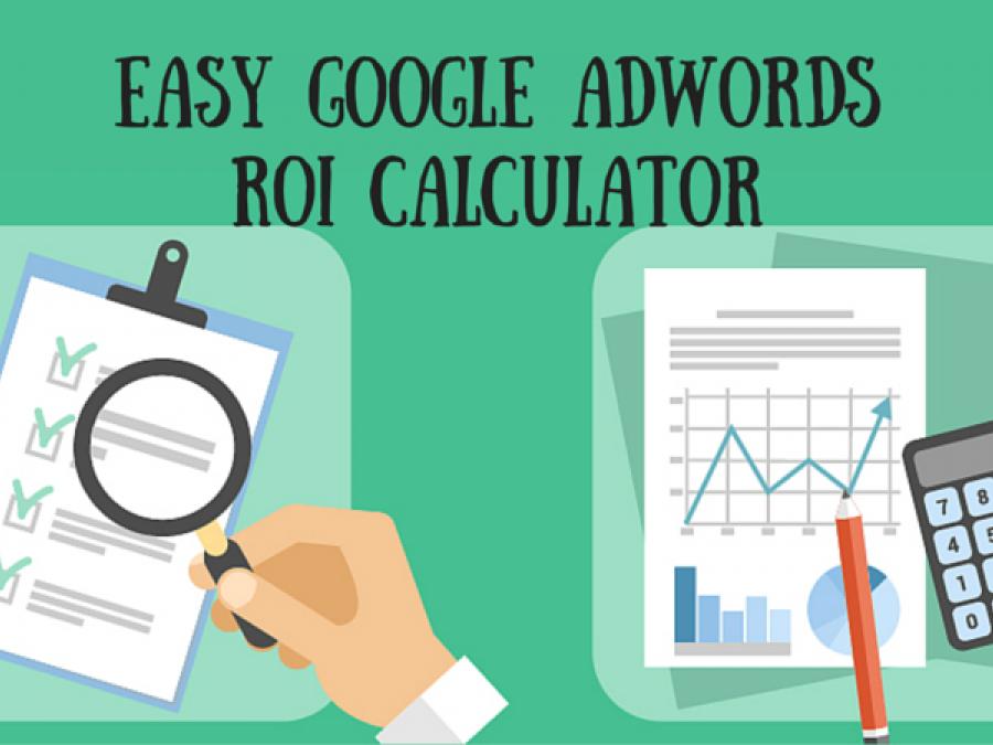 True roi measurement using google adwords, google analytics and excel.