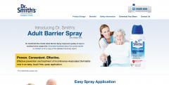 Dr Smith's Adult Barrier Spray Homepage