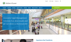 home page for wolters kluwer