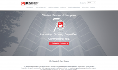 mission pharamcal homepage