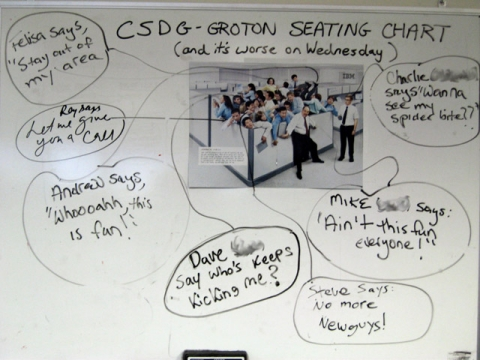 funny seating chart